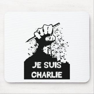 Jesuis Charlie (édition de zombi) Tapis De Souris