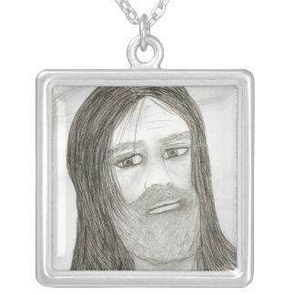 Jésus avec le halo collier