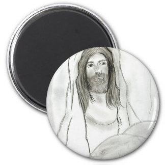 Jésus en caverne aimant