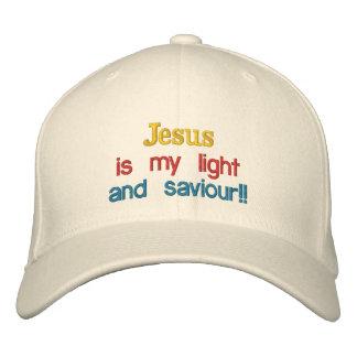 Jésus est ma lumière, et sauveur ! ! , casquette brodée