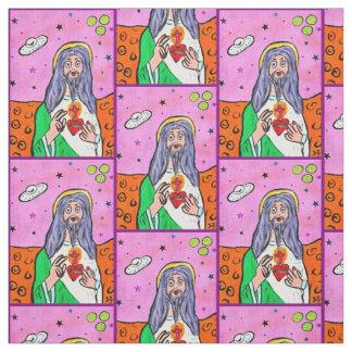 Jesus Fabric Stof