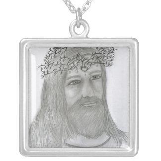 Jésus m'aime collier