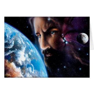 Jésus pleurant carte