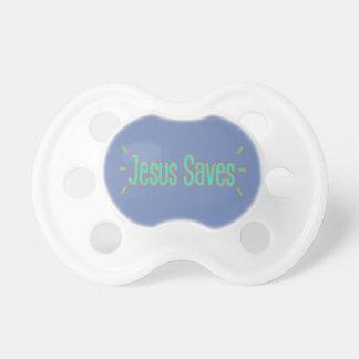 Jésus sauve la tétine de bébé