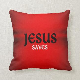 Jésus sauve le coussin