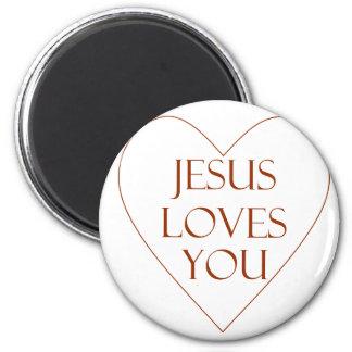 Jésus vous aime aimant