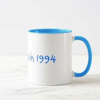 J'étais en 1994 tasse née