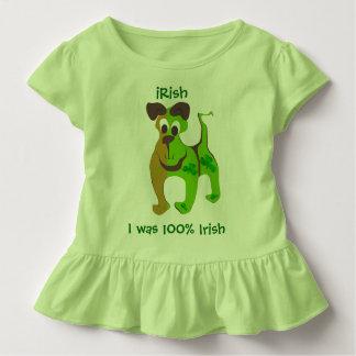 J'étais Irlandais de 100% T-shirt Pour Les Tous Petits