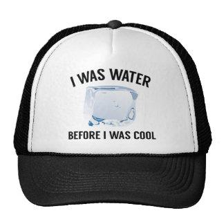 J'étais l'eau casquette trucker