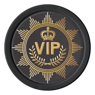 Jeton de poker de VIP Rouleau De Jetons De Poker