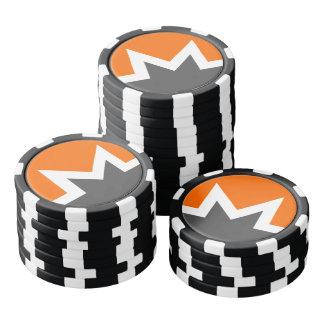 Jeton de poker d'obscurité de Monero