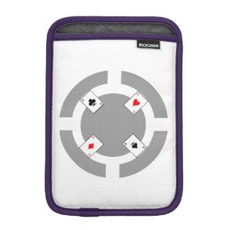 Jeton de poker - gris housse iPad mini