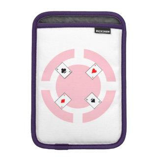 Jeton de poker - rose housse iPad mini