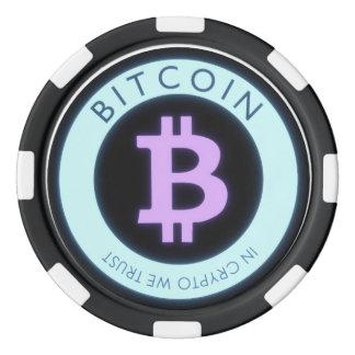 Jetons de poker de Bitcoin !