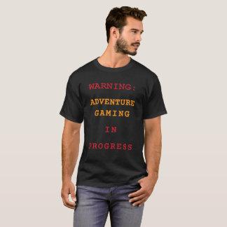 Jeu d'aventure en cours t-shirt