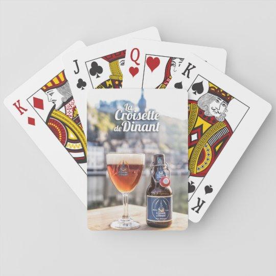 Jeu de 52 cartes à jouer blanc