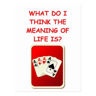 jeu de carte carte postale