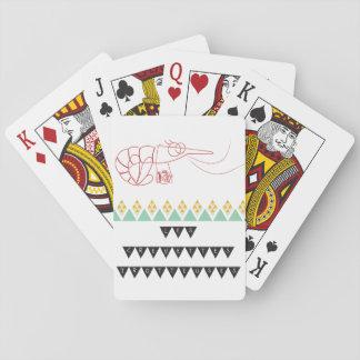 Jeu de carte crevettes trotteuses cartes à jouer
