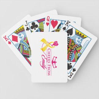 Jeu De Cartes Acclamations des cartes de jeu d'Emily