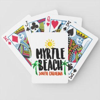 Jeu De Cartes Aquarelle de Myrtle Beach