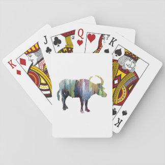 Jeu De Cartes Art de Buffalo