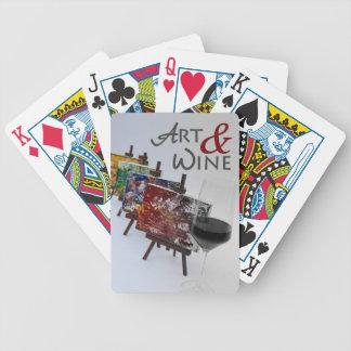 Jeu De Cartes Art et cartes de jeu de vin !