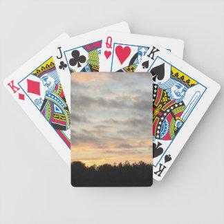 Jeu De Cartes Beau porte-cartes de coucher du soleil