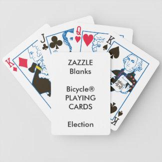 Jeu De Cartes Blanc fait sur commande de cartes de jeu