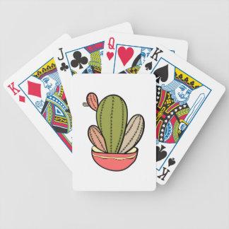 Jeu De Cartes Cactus vecteur illustration. Hand drawn. Cactus