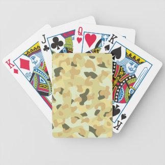 Jeu De Cartes Camouflage disruptif de désert
