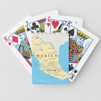 Jeu De Cartes Carte politique du Mexique