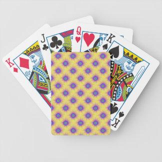 Jeu De Cartes Cartes de jeu carrelées par explosions de couleur