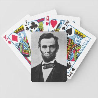 Jeu De Cartes Cartes de jeu d'Abraham Lincoln