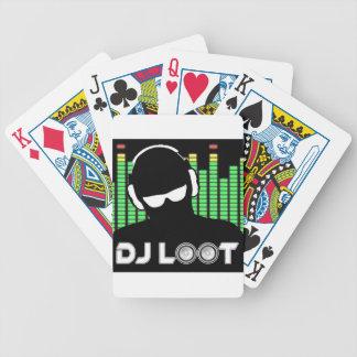 Jeu De Cartes Cartes de jeu de butin du DJ