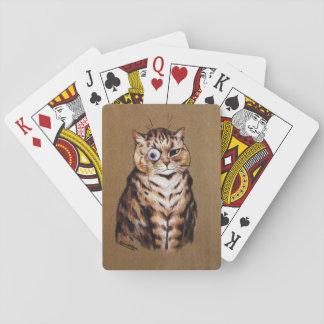 Jeu De Cartes Cartes de jeu de chat de Louis Wain