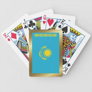 Jeu De Cartes Cartes de jeu de drapeau de Kazakhstan