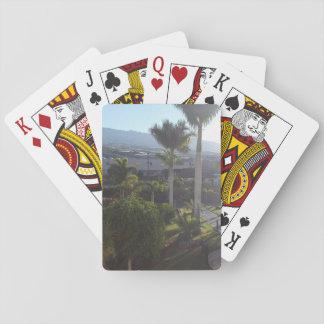 Jeu De Cartes Cartes de jeu de paysage de Ténérife