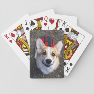 Jeu De Cartes Cartes de jeu de photo de corgi
