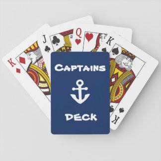 Jeu De Cartes Cartes de jeu de plate-forme de capitaines