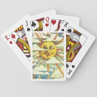 Jeu De Cartes Cartes de jeu de soleil
