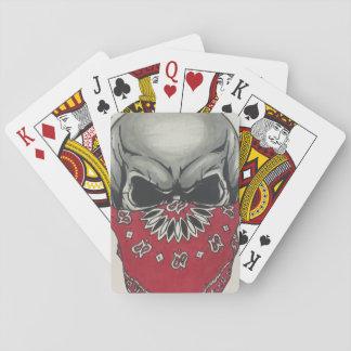 Jeu De Cartes cartes de jeu de visage de tisonnier de mode de