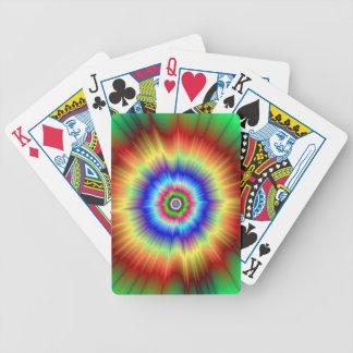 Jeu De Cartes Cartes de jeu d'explosion de couleur orange et
