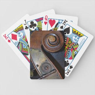 Jeu De Cartes Cartes de jeu d'instrument de musique