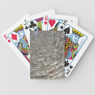 Jeu De Cartes Cartes de jeu d'ondulation de l'eau