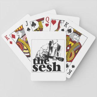 "Jeu De Cartes ""cartes de jeu du sesh"" (blanches)"