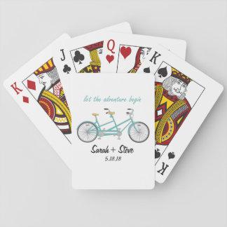 Jeu De Cartes Cartes de jeu faites sur commande de bicyclette de