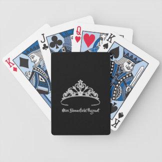 Jeu De Cartes Cartes de jeu faites sur commande de diadème