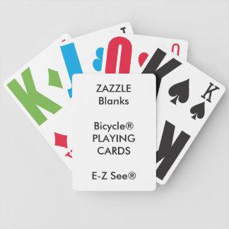 Jeu De Cartes Cartes de jeu faites sur commande de gros