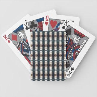 Jeu De Cartes Cartes de jeu foncées et rustiques