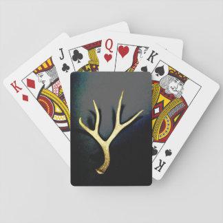 Jeu De Cartes Cartes de jeu jetées de cerfs communs de mule